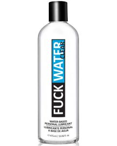 Fuck Water Clear 16oz Water Based Lubricant